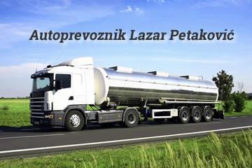 Autoprevoznik Lazar Petaković