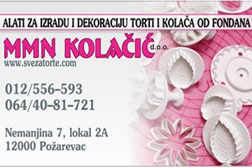 MMN Kolačić doo Sve za torte logo