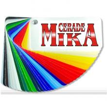 Mika Cerade Ub Cerade paleta boja